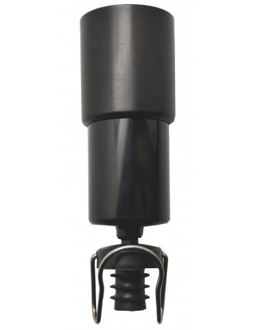 Tapón conservación cava Popy Wine bomba + tapón + clip