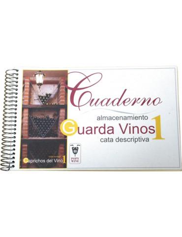 cuaderno de guardavinos + 15 clasificadores para botellas imagen