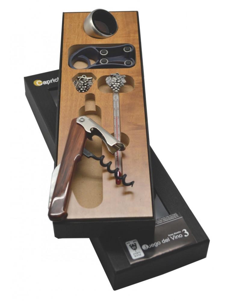 set madera canon 5 accesorios