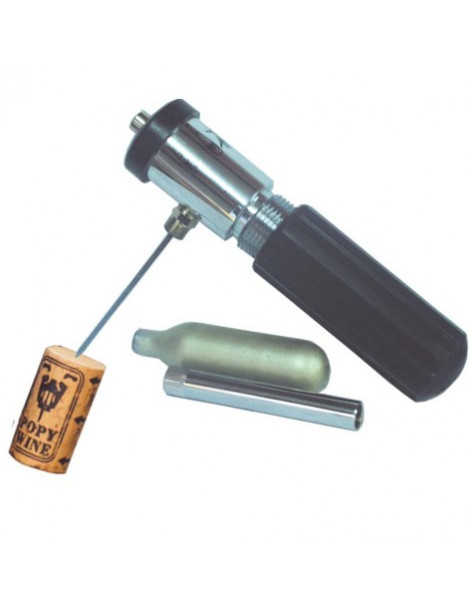 sacacorchos presion con capsulas co2