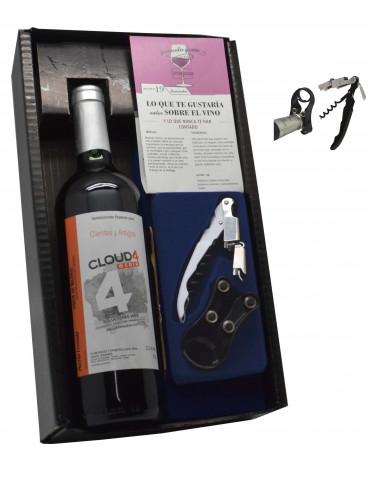 estuche accesorios premium negramoll 1 botella