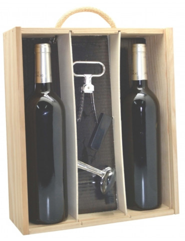 estuche accesorios consulting 2 botellas