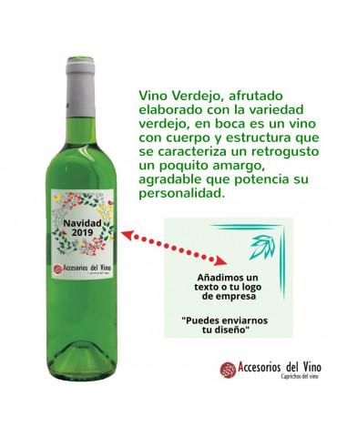 Botella Vino verde
