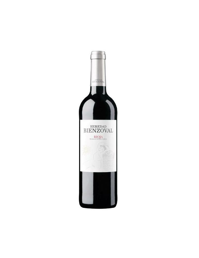 botella vino heredad bienzoval