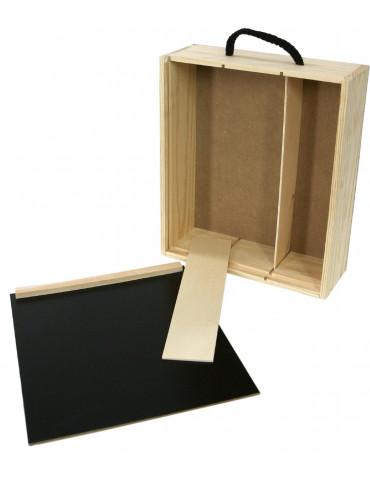 estuche madera para 3b pack 25 uds
