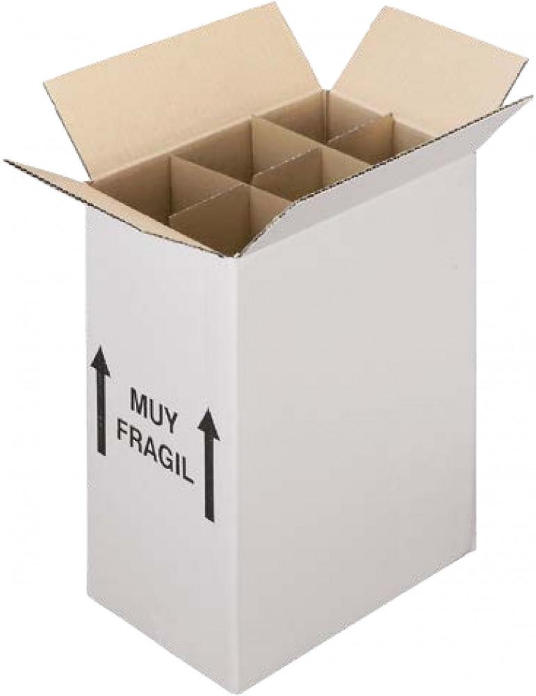 caja carton 6 bot