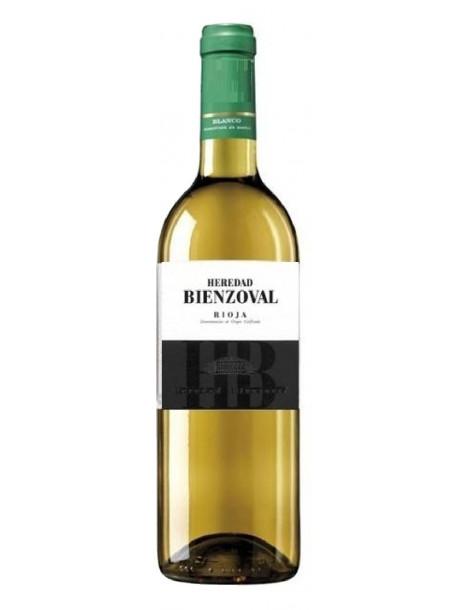 botella vino blanco heredad bienzobal