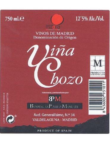 Botella vino Tinto D.O. Madrid